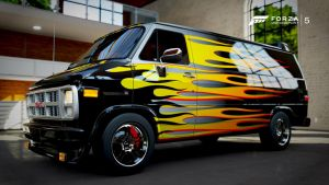 Forza 5 - GMC Vandura 1500 by deathmachine630