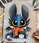 Baby Alpha Toothless by SkyKristal