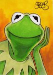Kermit the frog by Spears by markman777