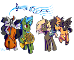 Commission: Melodies by TheYoungReaper