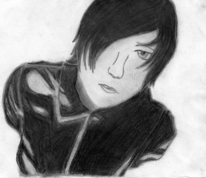 Frank Iero by crayon-warrior-blue