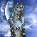 The gift of the Ocean by adriediana