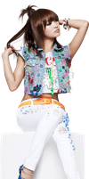 Nicole (Kara) PNG Render by classicluv