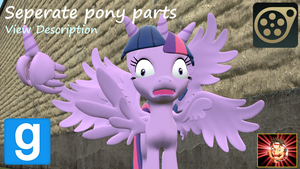 Gmod/SFM Ponies [DL]: Pony Parts by Benno950