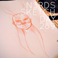 Sketch Day 289 by n3rdswithpapercuts