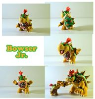 Weekly Sculpture: Bowser Jr. by ClayPita