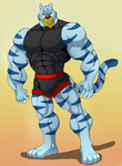 Comm: Tigr by Kancer-Chan by SilverZeo