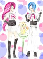 Team Rocket: Commission by Amme-Hsuor