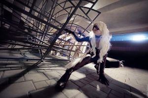 Meow - Black Cat by Lady-I-Hellsing