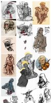 :sketchdump020: tumblr's creed V by ufficiosulretro