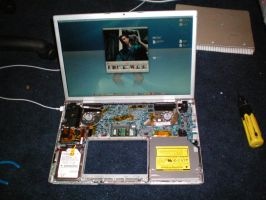 My MacBook Pro Disassembled by pichu912