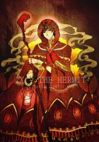 PN-Tarot:: IX-The Hermit by zeits