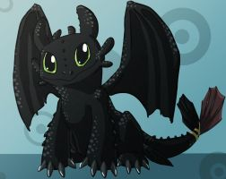Toothless by jackzarts