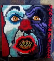 Perler Pennywise by GeneralHound