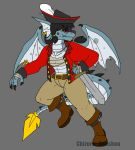 Pirate Draik by Inkblot-Rabbit