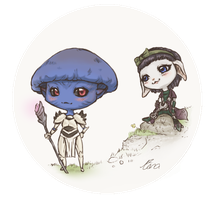 Gee and Myo by Minarie