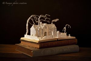 Wuthering Heights book sculpture... by AnemyaPhotoCreations