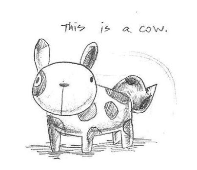 This Is A Cow by cjcat2266