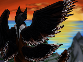 Fly by the Sea by Wolfchick36