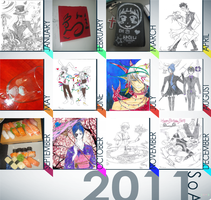 2011 Summary Art by HellSiNLordZ