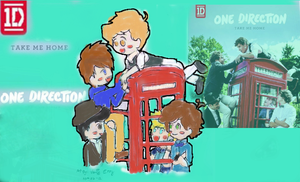 one direction (take me home) chibi by jaimie07