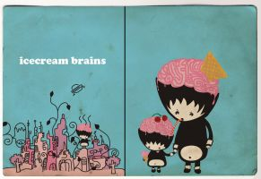 icecream brains by CAML