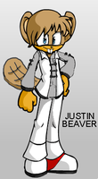 FC: Justin Beaver XD by elfofcourage