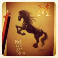 M is for Metzengerstein by Disezno
