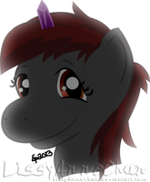Gift for: zanon-shadow-veil: Zanon Pony by LissyAnneChan