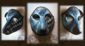 Blue mask- Sold by un-do