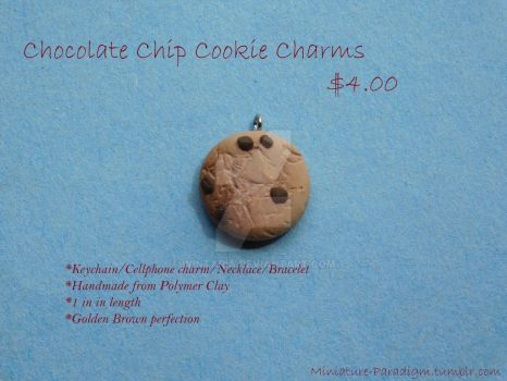 Chocolate Chip Cookie Charms! by Wintaria