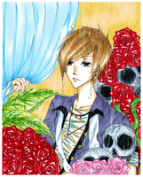 Entry: Rain in his garden by yuuki-ri