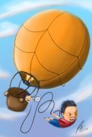 sky bungee... by ShinRone