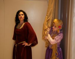 Hiding From Gothel by sadwonderland
