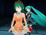 Gumi Tried To Steal Miku's Pockys Again by Darkmoong