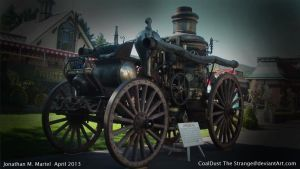 1909 Fire Engine by CoalDustTheStrange