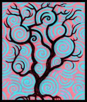 Spiral Tree by offermoord