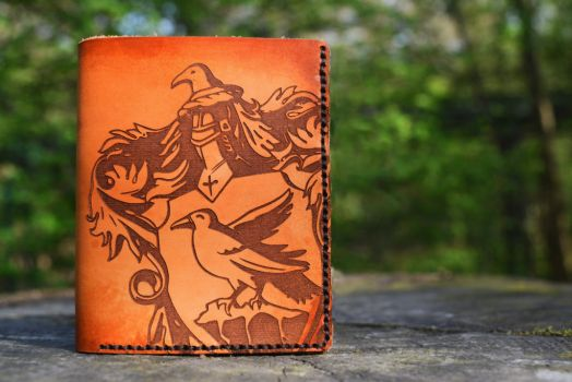 Ravenclaw Leather Wallet by ButtonxMushroom