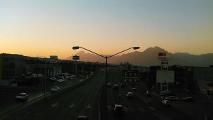 2 way Avenue sunset by bar-rios