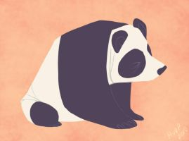 Daily Design: Panda by sketchinthoughts