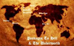 Passages to Hell and The Underworld by Isaacsporcaelus