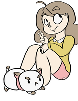 Bee and Puppycat by SugarHIGH-cHAOS
