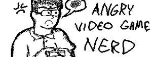 Miiverse - Angry Video Game Nerd by soryukey