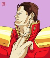 I need some air. - M.Bison / Vega by Shadaloo1989
