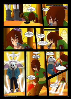 Under-Upper AU: Ch6 Page 10 by MichPajamaArtist