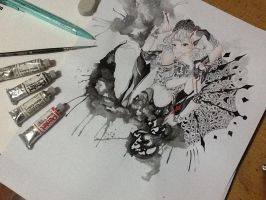The Ink Queen by sorrenovough