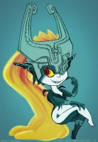 Midna as is by anniemae04