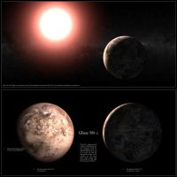 Gliese 581 c by Slew