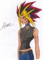 Atem_Ready for Battle by PhoenixFaerie1023