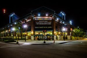 Baseball Grounds of Jacksonville by DGPhotographyjax